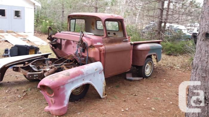 1955 1/2 ton project