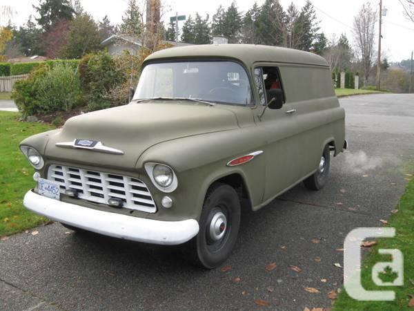 1955 1956 1957 chev panel truck wanted