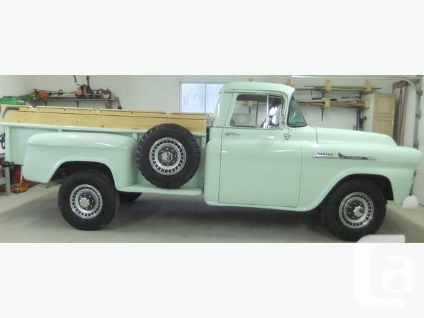 1958 Chevrolet Apache 38, hoist,safety, appraisal