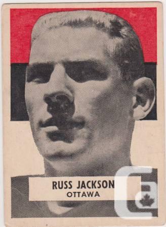 1959 WHEATIES CFL Football cards - 0
