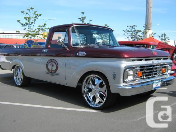 1963 ford f100 unibody show truck for sale in nanaimo. Black Bedroom Furniture Sets. Home Design Ideas