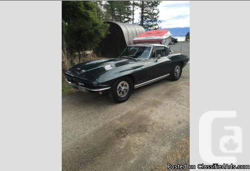 1965 Chevy Corvette Coupe