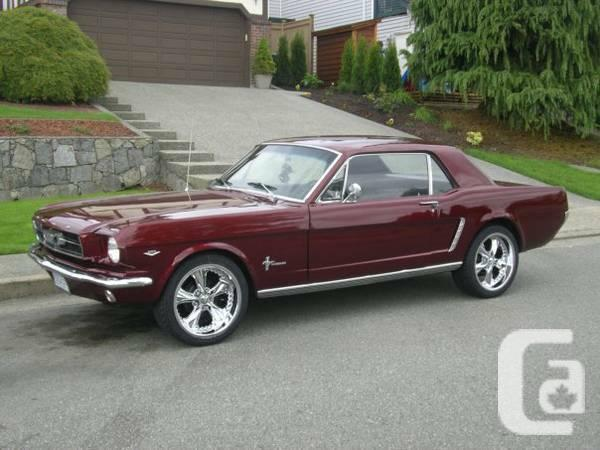 1965 ford mustang for sale in vancouver british columbia. Cars Review. Best American Auto & Cars Review