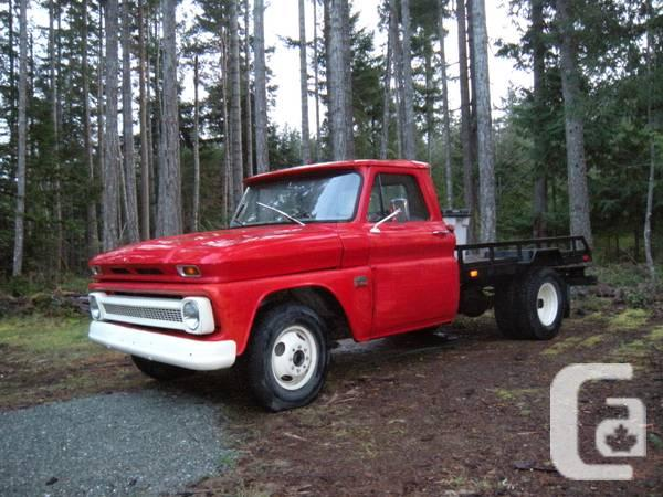 1966 chevy 1 ton flatdeck - for sale in Gibsons, British ...