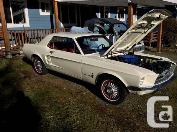 1967 Mustang Classic - $23000