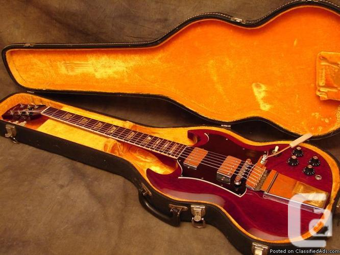 1970 (Early) Gibson SG Regular with Lyre tremelo in
