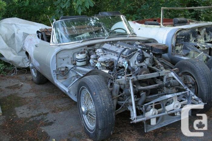 1970 Jaguar E-Type 4.2 OTS for restoration