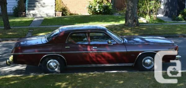 1977 Dodge Monaco 4Door - $2900 in Burnaby, British Columbia for sale
