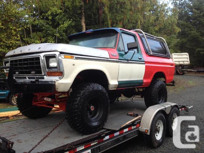 1979 Bronco For Sale In Nanaimo British Columbia Classifieds