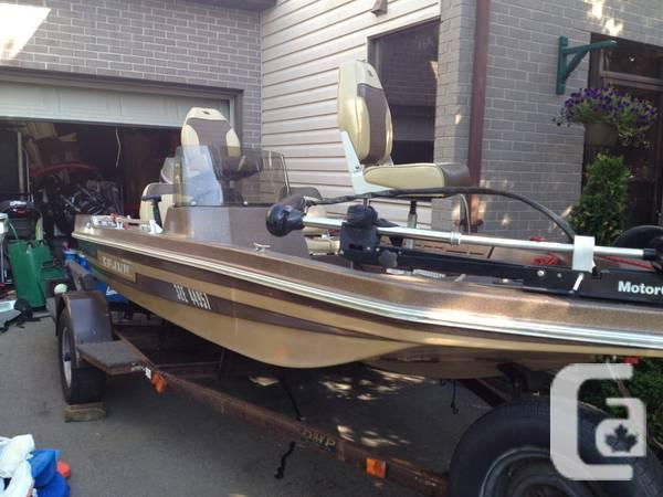 1980 Cajun Brat Bass Boat - 00