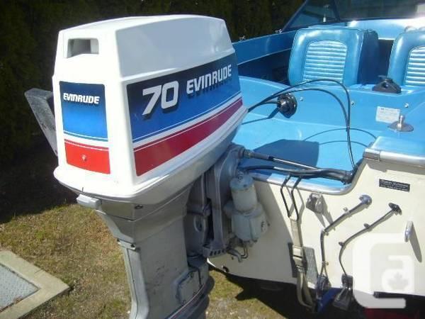 1981 Evinrude 70 Horsepower 2 Stroke