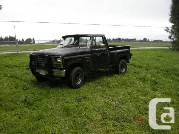 1981 Ford F 150 4x4 Shortbox Stepside 302 4 Speed