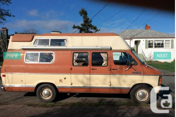 1982 Dodge Camper Van For Sale For Sale In Victoria