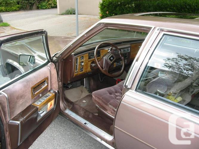 1984 CADDY, D'ELEGANCE, LESS THAN 20 K MILES ON NEW