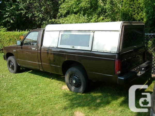 1984 Chevrolet Pickup 4X4 t/ amp Long Container &;