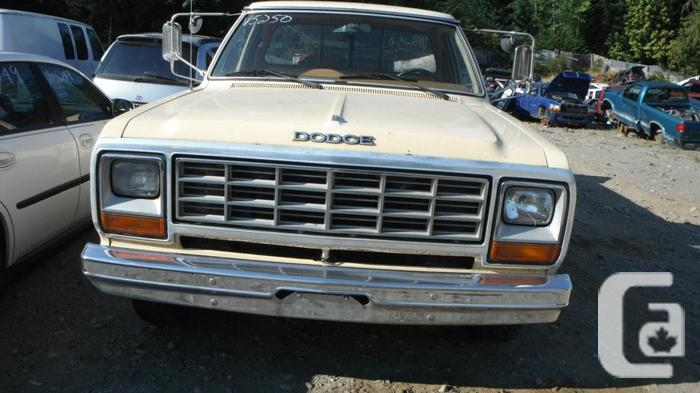 1984 DODGE 2500 PICKUP 360 AUTO FOR PARTS