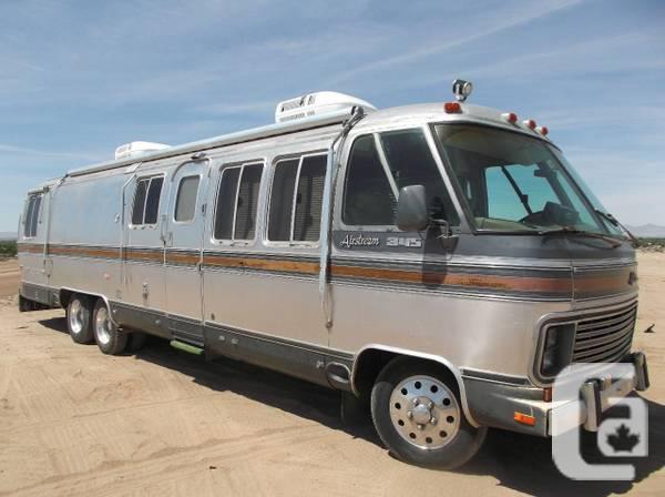 1986 Airstream 345 motorhome - $12500