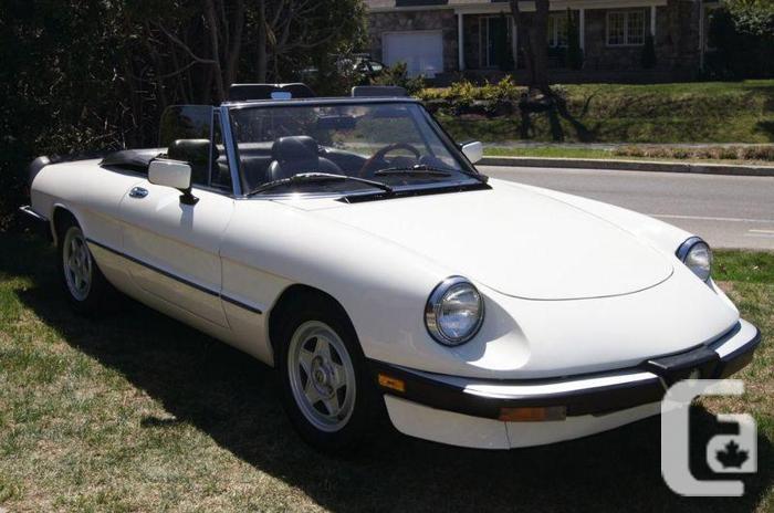 1986 Alfa Romeo Spider Veloce Convertible