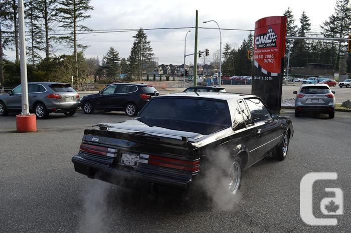 1986 Buick Regal Grand National Custom