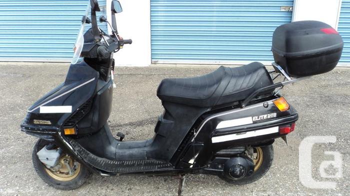 1986 Honda CH 250 Elite Scooter