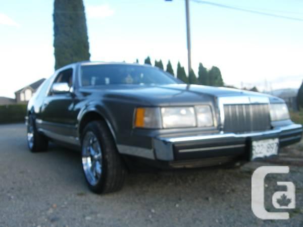 1986 LINCOLN MARK VII - $10500