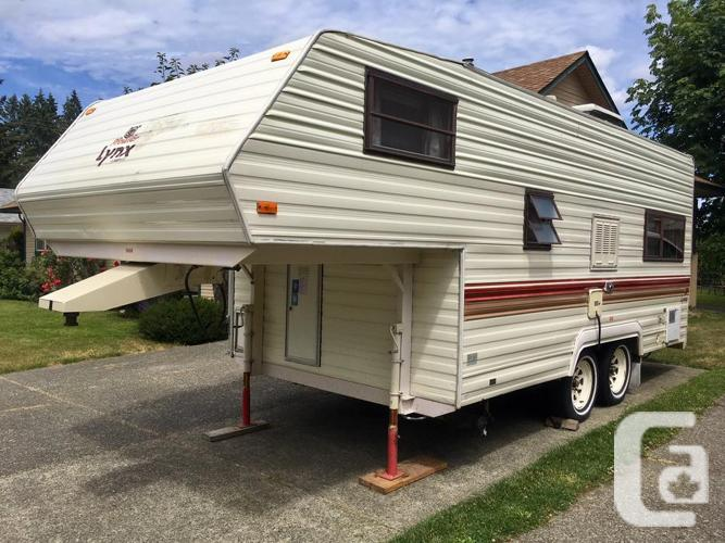 1987 215B Prowler Fifth Wheel, Spotless Condition