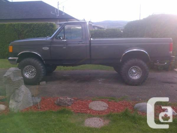 1987 ford f150 4x4 raised and prepared for sale in kelowna british columbia classifieds. Black Bedroom Furniture Sets. Home Design Ideas