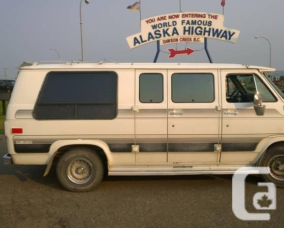 1988 GMC 2500 Campervan RV, shape that is good - $3400