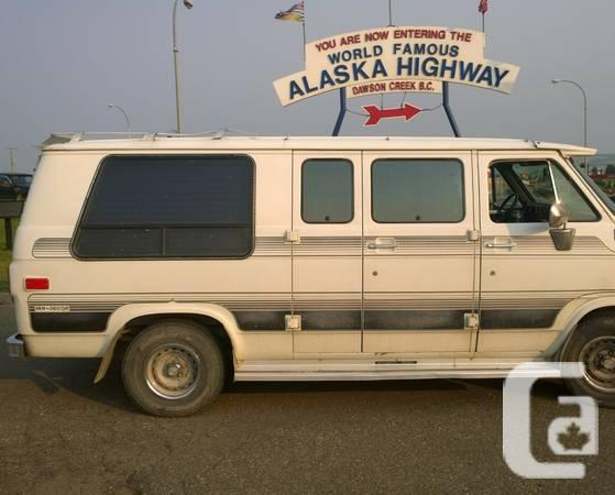 1988 GMC 2500 Campervan RV, shape that is good - $3400