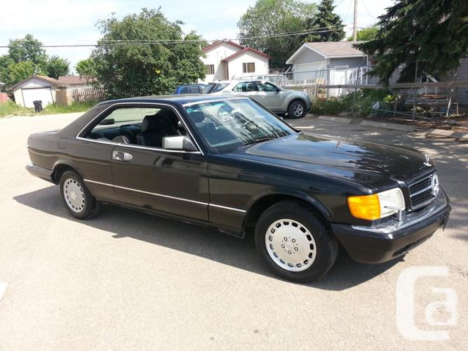 1988 mercedes benz sec 560 for sale in drayton valley for 1988 mercedes benz