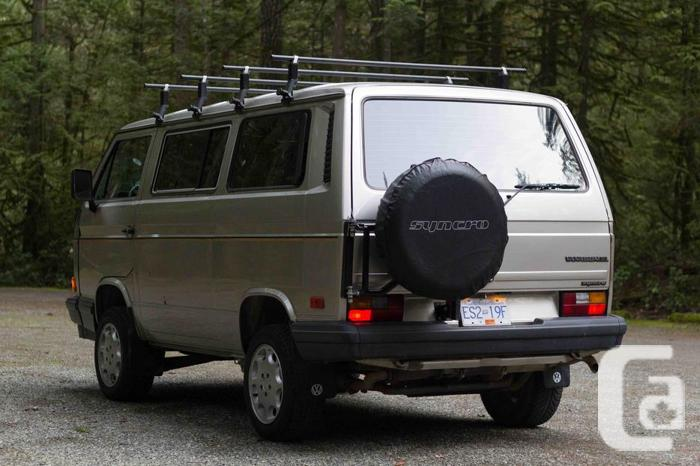1988 VW Vanagon Syncro in Cobble Hill, British Columbia for sale