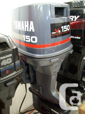 1989 150 H P Yamaha Pro V6 Outboard Motor For Sale In Whistler British Columbia Classifieds