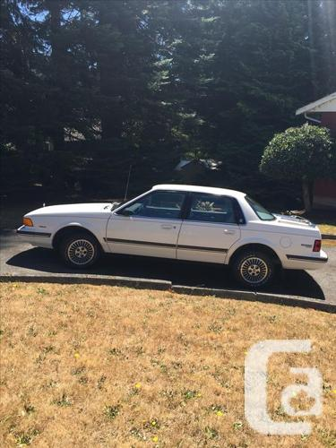 1989 buick century limited for sale in nanaimo british. Black Bedroom Furniture Sets. Home Design Ideas