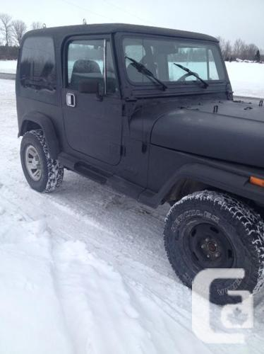 1989 Jeep YJ for sale