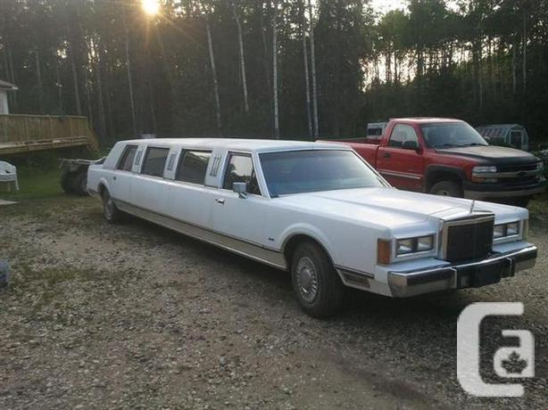 1989 Lincoln Town Car Limo For Sale In Wembley Alberta