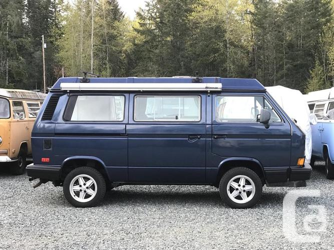 1990 Syncro VW Westfalia Vanagon GL, excellent condition in Cobble Hill,  British Columbia for sale