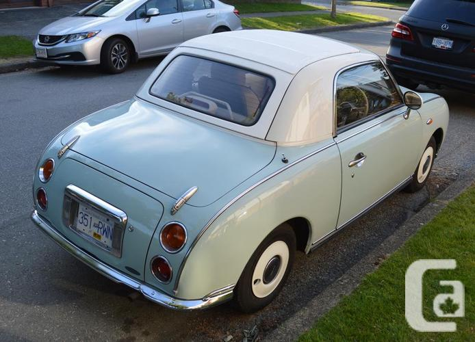 1991 Nissan Figaro, newly rebuilt engine, and new top