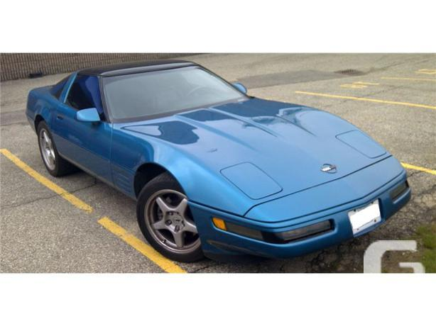 1992 Chevrolet Corvette 6 Speed Coupe