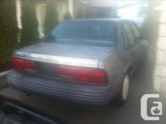 1992 Chevy Cavalier, RUNS GREAT!