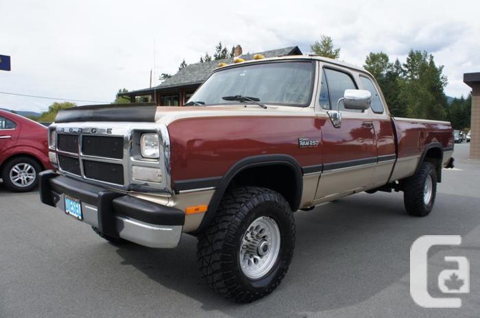 1992 dodge ram 2500 12 valve cummins diesel 4 4 for sale for Dodge 12 valve cummins motor for sale