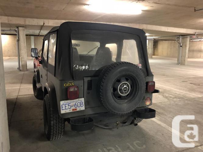 1992 Jeep YJ 4L