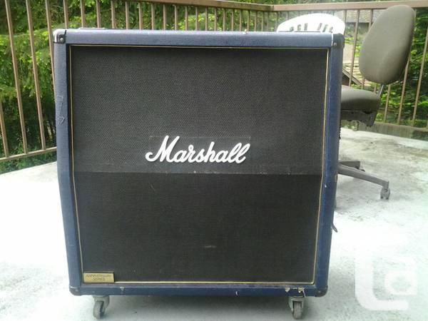 1992 marshall 30th anniversary 4x12 cab - $400