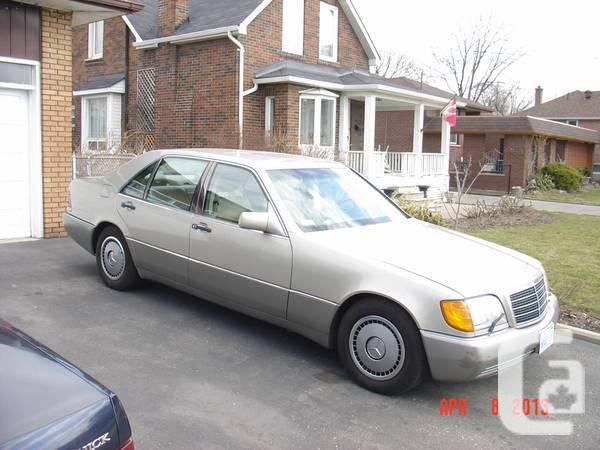 1992 Mercedes 500 Sel - $3900