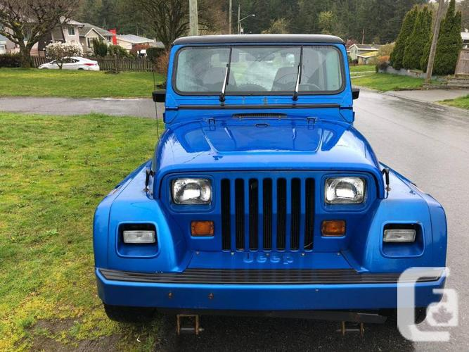 1993 Jeep yj Renegade 4.0l 5 speed manual 4x4