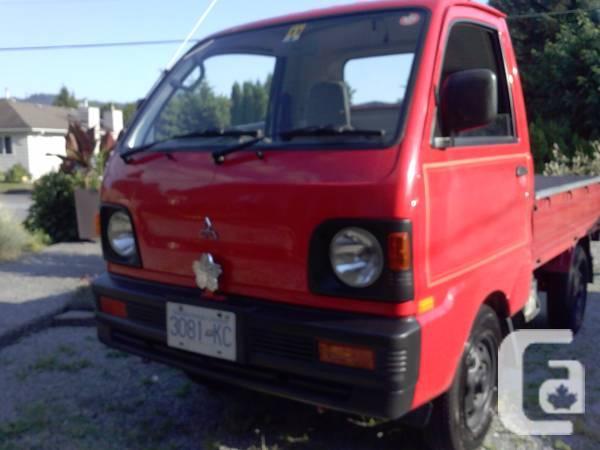 mitsubishi mini truck service manual