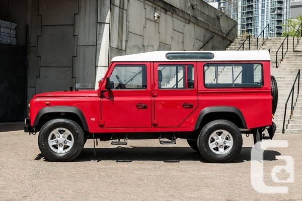 1993 Land Rover Defender 110 5- Manual - $49900