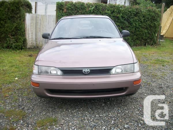 1993 Toyota Corolla - $2350 in Coquitlam, British Columbia for sale