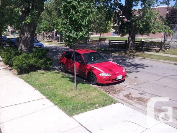 1994 civic hatchback with b18-c1 engine - $3000
