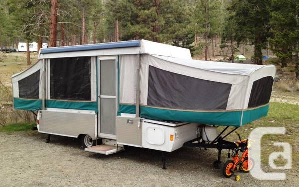 1994 Coleman Avalon Tent Trailer - $3200 & 1994 Coleman Avalon Tent Trailer - for sale in Whistler British ...