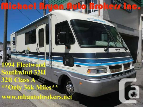 1994 FLEETWOOD SOUTHWIND 32FT CLS *A VERY GOOD SHAPE*